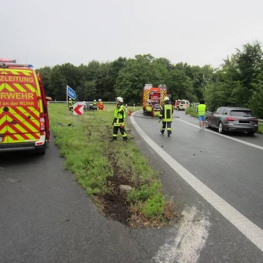 Stau A40 Richtung Venlo